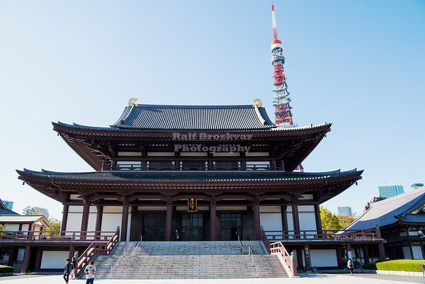 Zōjō-ji Temple Tokyo