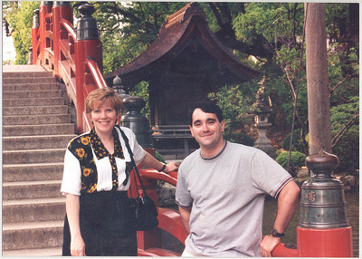 Oh boy. This was long before Weight Watchers! That is my coworker, Terry Jean, with me. She'd move to Syracuse soon after this trip.