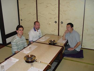 In Hamamatsu for Sukiyaki. Yum!