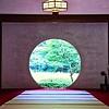 Japanese Round Temple Door