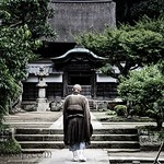 Monk Going to Prayer