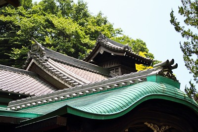 Traditional Japanese Roof Detail