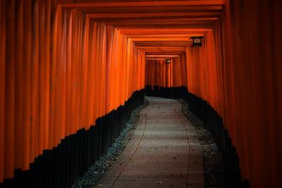 Fushimi Inari Tunnel