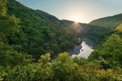 Katsura River Sunset