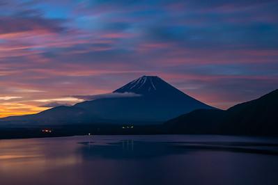 Colorful Fuji Morning