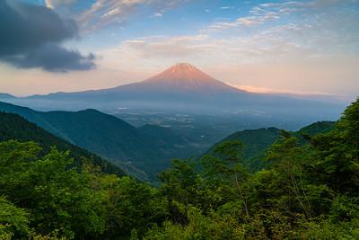 Mountain View Of Mt Fuji