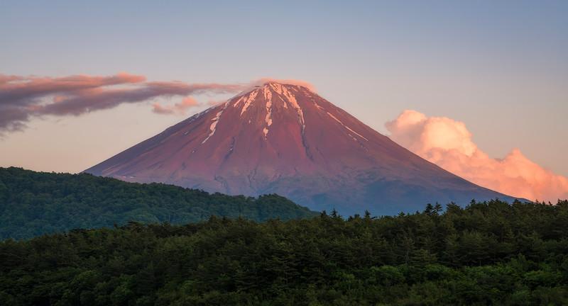 Mt Fuji From Lake Saiko