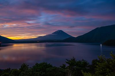 Fuji Morning Glow