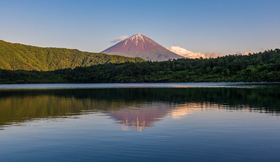 Mt Fuji From Lake Saiko