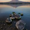 Stones On the Shores of Kawaguchiko