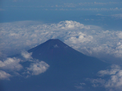 For about 2 months of the year, Mt. Fuji is snowless and you may hike to the top. I haven't done this yet.