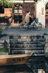 An Evening Ride in Kurashiki Bikan