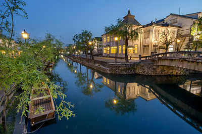 Blue Hour on the Bikan District Canal