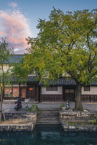 Evening In The Kurashiki Bikan District