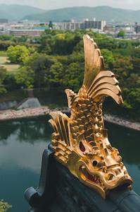 Ornament At Okayama Castle