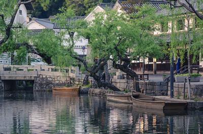 Boats of Kurashiki Bikan