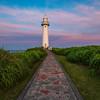 Sunset at Tsumekizaki Lighthouse