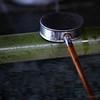 A ladle awaits use.
