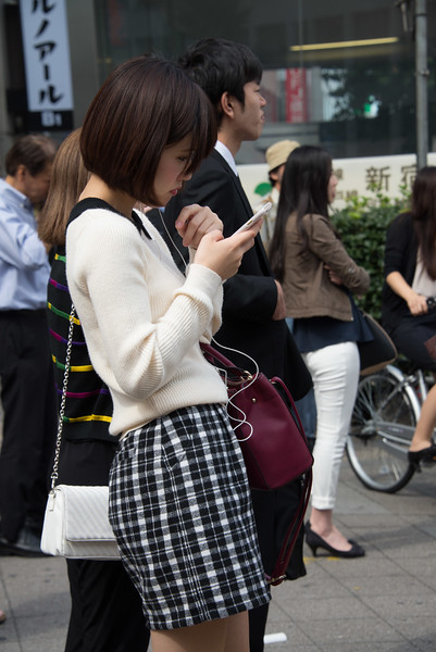 On a Tokyo Street-7401