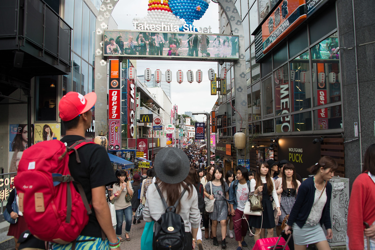 Takeshita Street Tokyo-7132