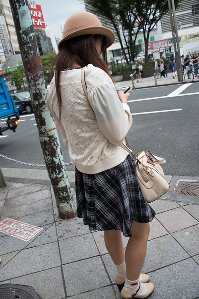 On a Tokyo Street-7535