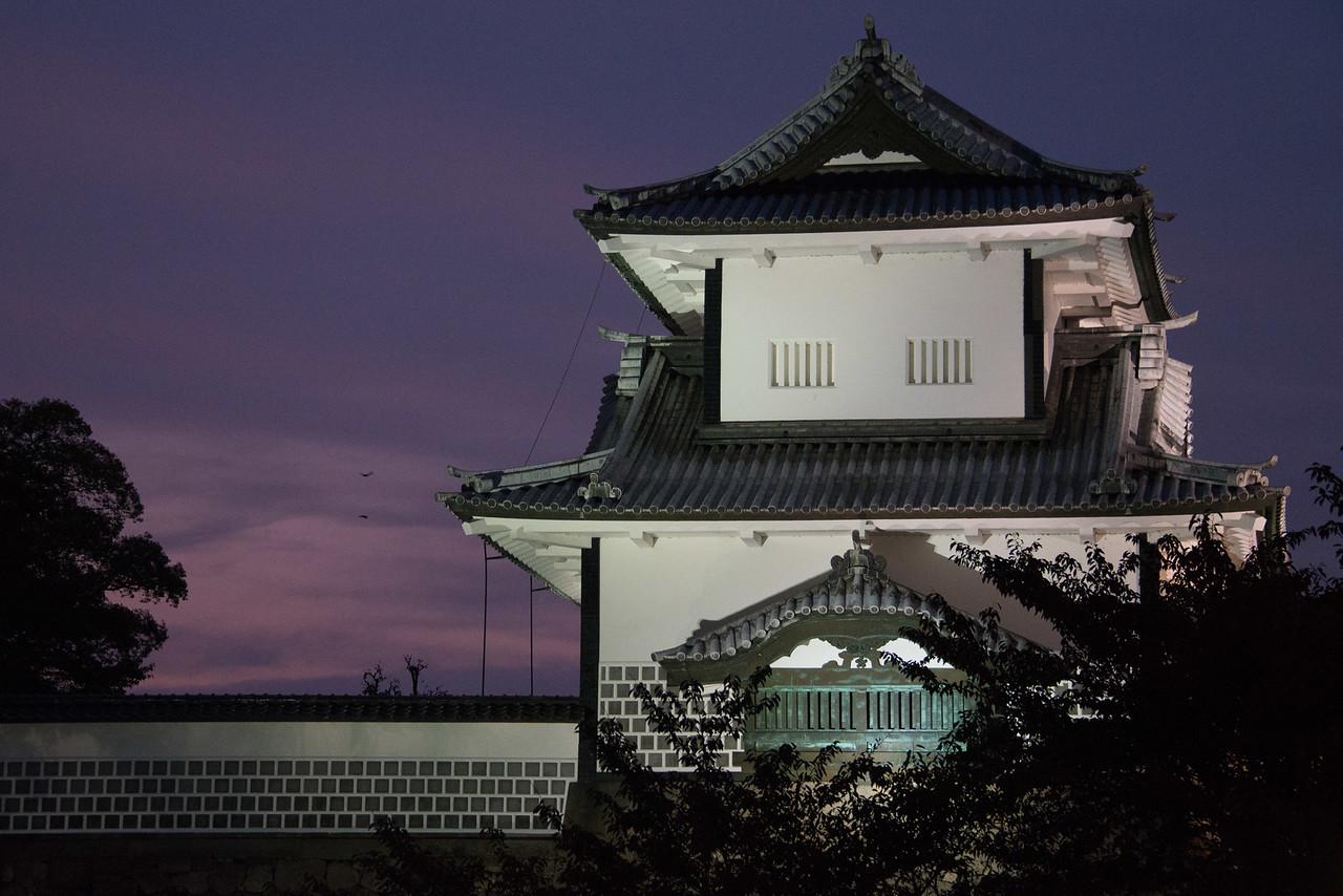 Kanazawa Casle at night-9643