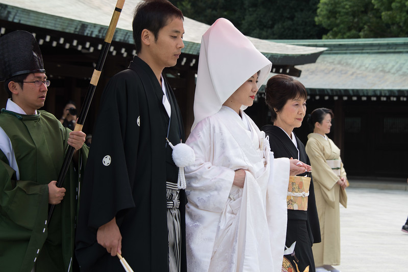 Wedding at Meiji Shrine Tokyo-7105