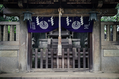 In The Quiet of Nezu Shrine