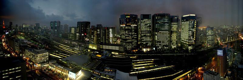 Night view from Shinagawa Hotel