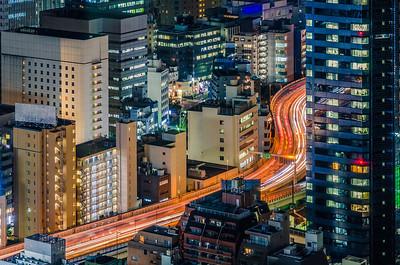 Snaking Through Tokyo