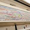 A map of the Tokyo subway system.  It's actually very simple, and they do a very good job of helping you to understand where you are and which way a train is going.  Announcements are in Japanese and English.