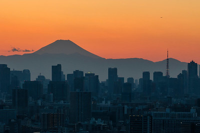 Tokyo Japan At Dusk