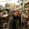 Exploring the inn's surroundings - Yanaka district