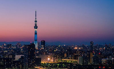 The Skytree Over Tokyo