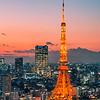 Tokyo Tower Magic Hour