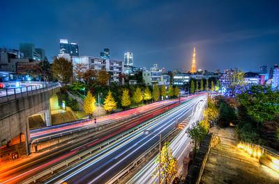 Roppongi on the Last Night of November