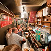 A view of the izakaya (place where yakitori is served).  this is the entire establishment.