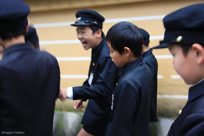 Kyoto school children