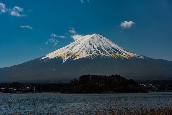Mt. Fuji and unobstructed view.
