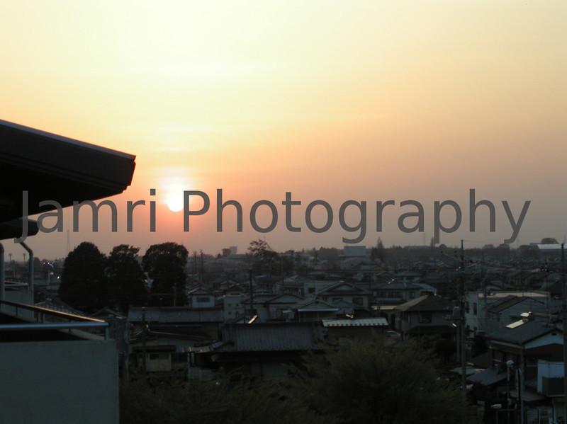 Gunma Sunset, Gunma-ken, Japan