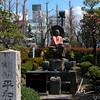 Buddha statue near the Senso-ji Temple, in Asakusa, Tokyo