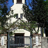 Omi-Imazu Church (Protestant) a wider view, Omi-Imazu, Shiga-ken, Japan