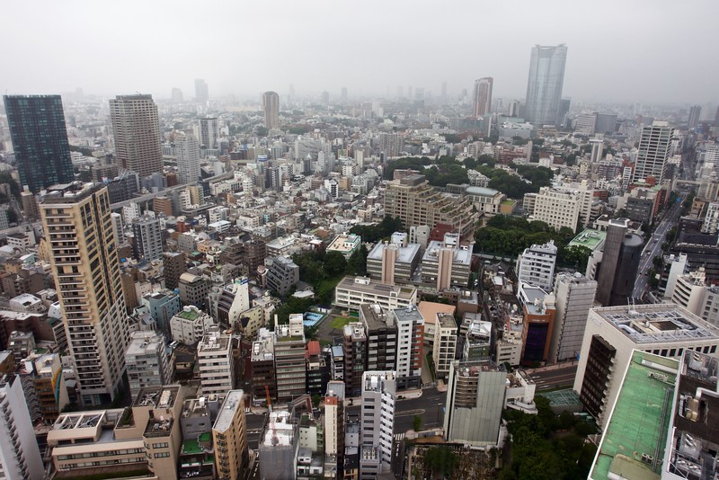 From Tokyo Tower, Japan