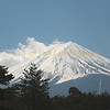 Mt. Fuji on a clear day.