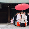 Umbrella Procession<br /> <br /> Maiji Shrine, Harakuku, Tokyo, Japan.