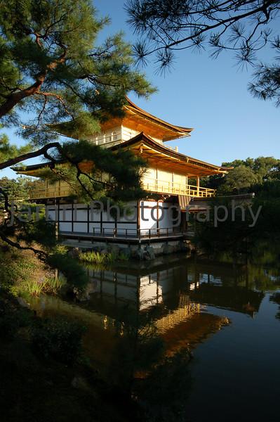 Kinkaku-ji (The Golden Pavilion) up close, Kyoto, Japan