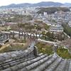 The View from Himeji Castle, Himeji, Hyogo-ken, Japan