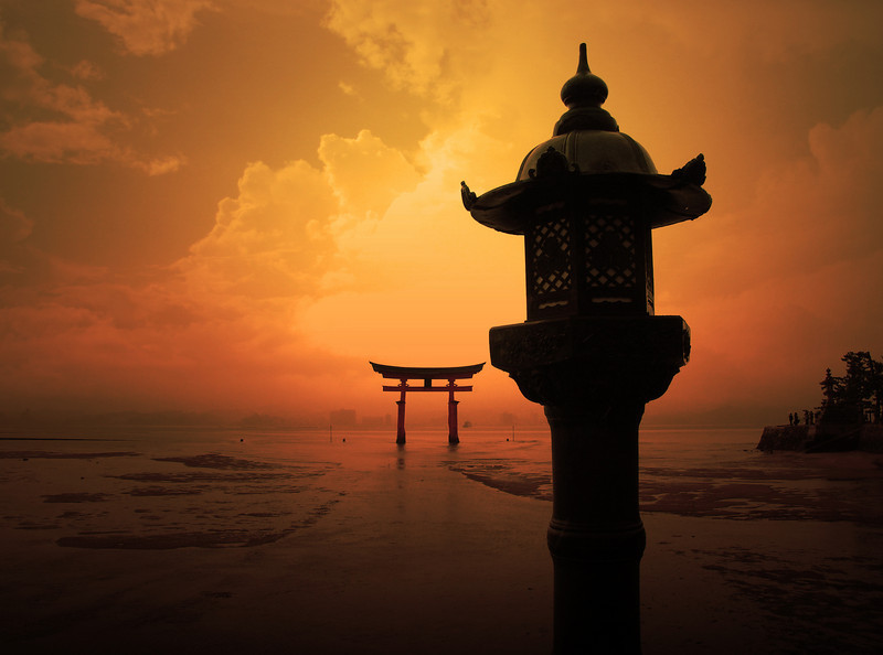 Miyajima Torii Gate (Japan)