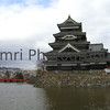 Matsumoto Castle from the Side, Matsumoto, Nagano-ken, Japan