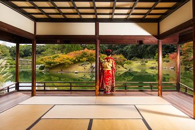 The Ritsurin Garden Teahouse (Takamatsu, Japan)